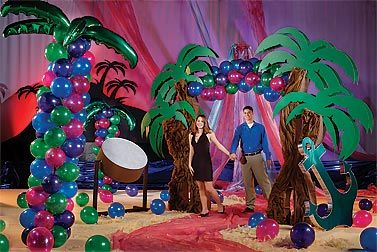tropical party decoration ideas decorations make it easy to