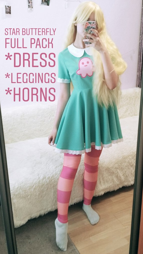 Star vs.the Forces of Evil Magic Princess Star Butterfly Cosplay Boots Shoes