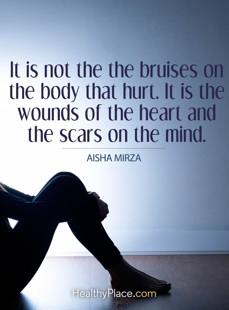 Abuse Quotes Quote On Abuse It Is Not The Bruises On The Body That Hurtit Is