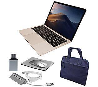"2019 Apple MacBook Air 13"" Retina with Accessories — QVC"