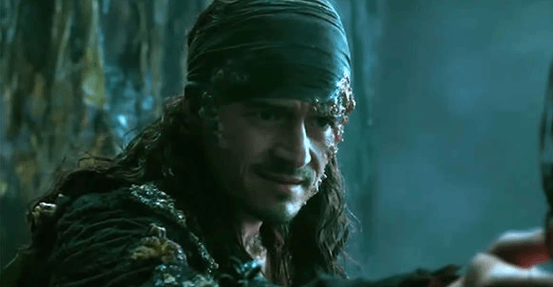 Pirates Of The Caribbean Dead Men Tell No Tales Will Turner Pirates 5 Orlando Bloom In Pirates Of The Caribbean Dead Men Tell No Tales Will Turner Is Now Davy Jone Pirates Of The Caribbean Orlando Bloom Will Turner