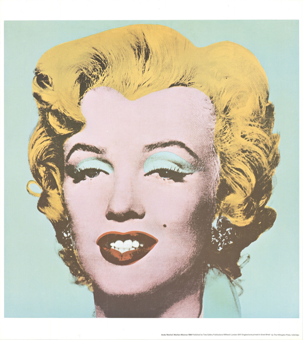 Andy Warhol-Marilyn-1971 Offset Lithograph #andywarhol