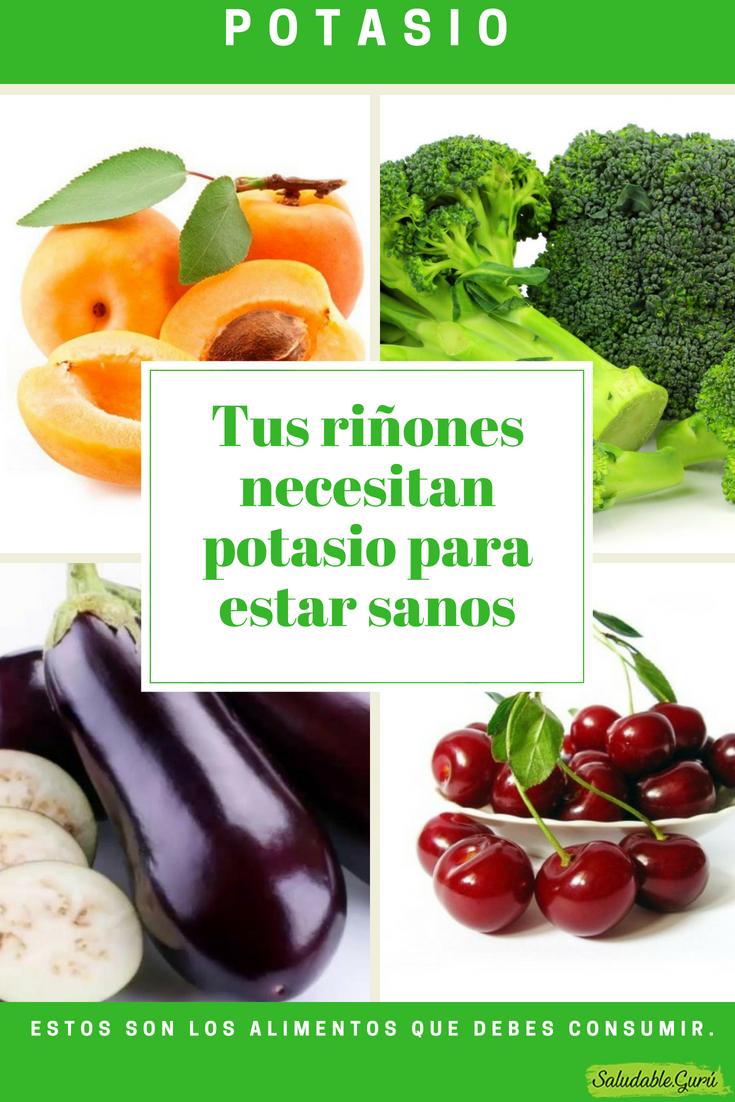 Tus Riñones Necesitan Potasio Para Estar Sanos Estos Son Los Alimentos Que Debes Consumir Remediosnaturales Natural Saludable Salud Natu Food Beef Fruit