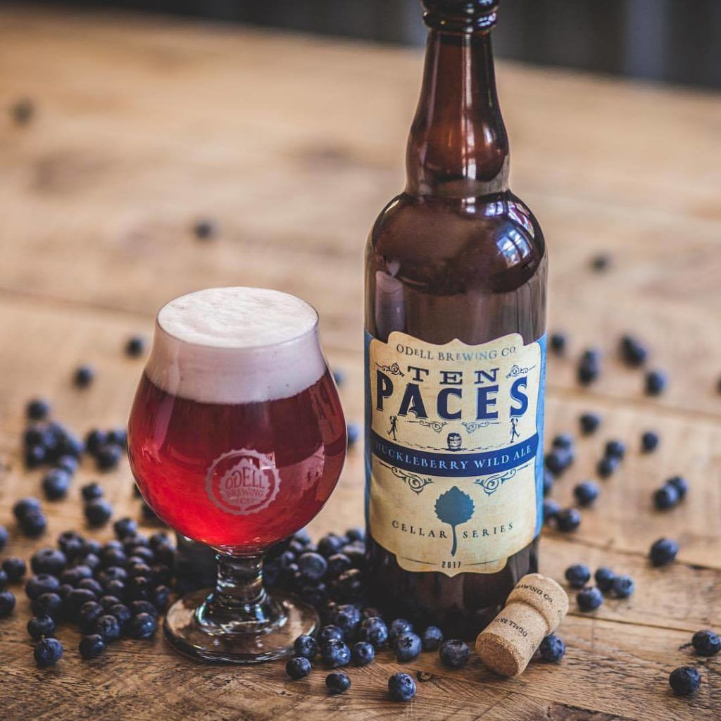 Odell brewing co crafted in colorado enjoyed