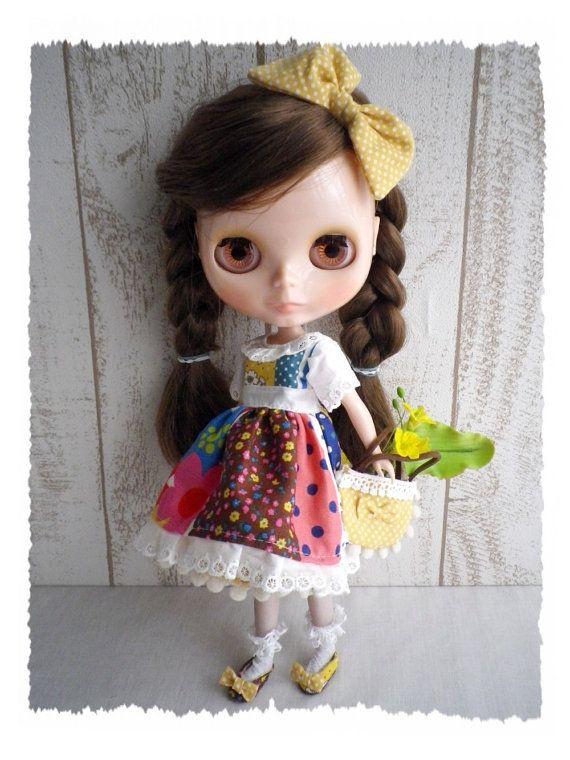 Blythe Doll  / Dress set of the vitamins color