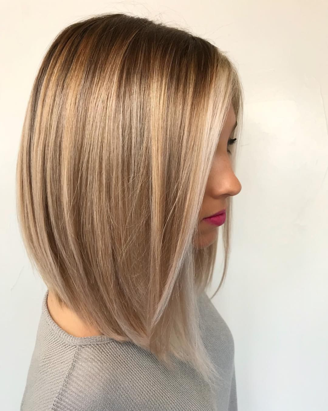 Pin by boo smith on hair pinterest lob balayage and stylists