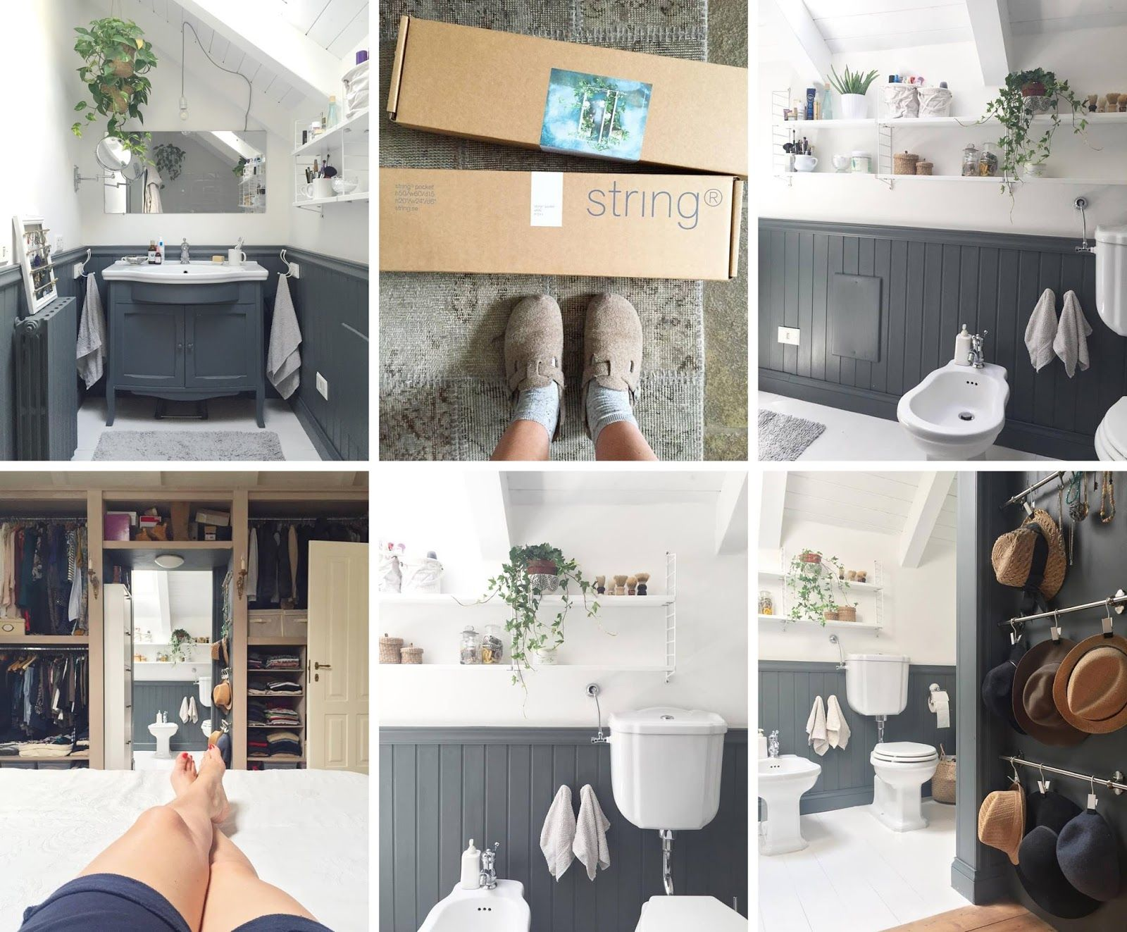 Restyling di un bagno shabby chic interiors for the home