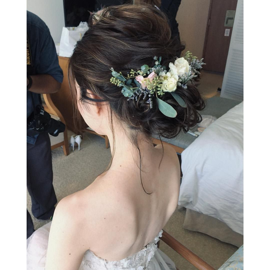 ハイライトが Hawaii Hawaiiwedding Hairstyle Updo ハワイ