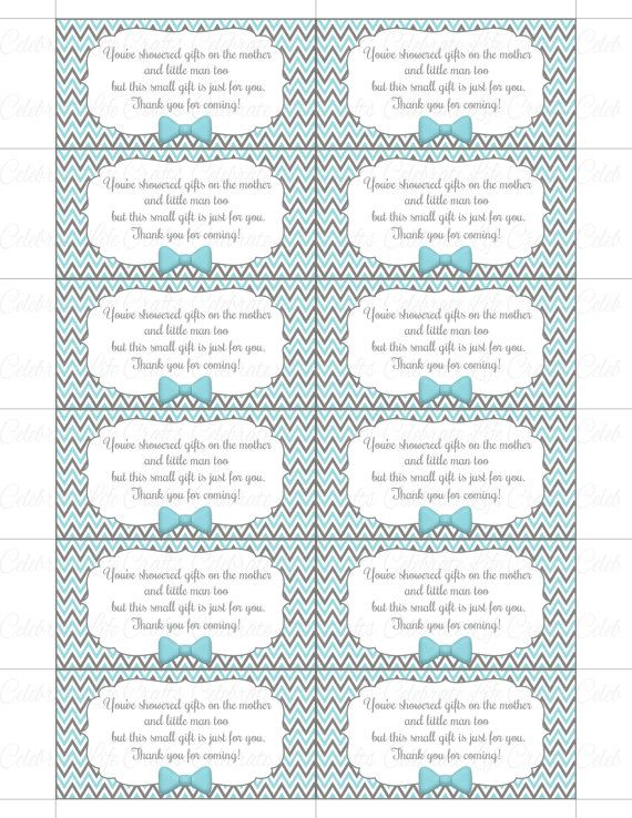 graphic regarding Free Printable Baby Shower Thank You Tags identify Thank Yourself Child Shower Printable Tag Labels - Printable Kid