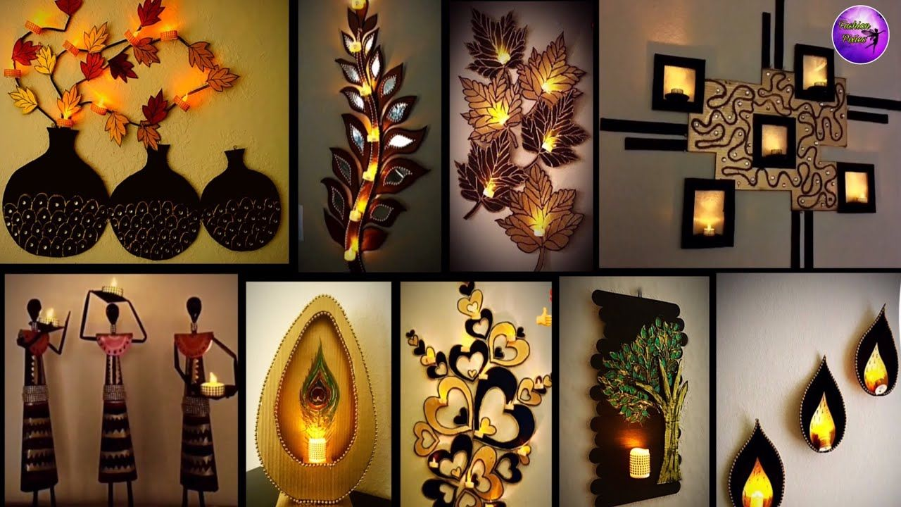 10 Home Decorating Ideas Craft Ideas Fashion Pixies Diy Crafts Diy Projects Youtube Diy Crafts For Home Decor Wall Decor Crafts Wall Hanging Crafts