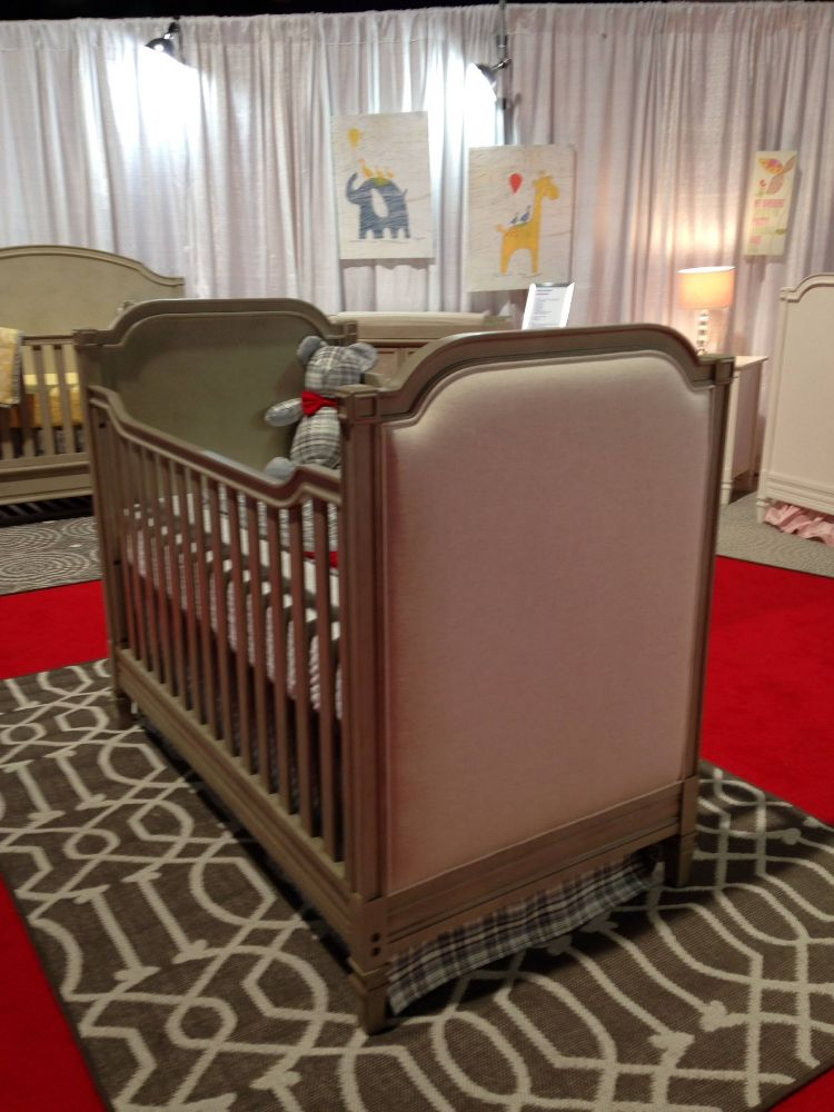 Upholstered Crib, Cribs, Baby Furniture