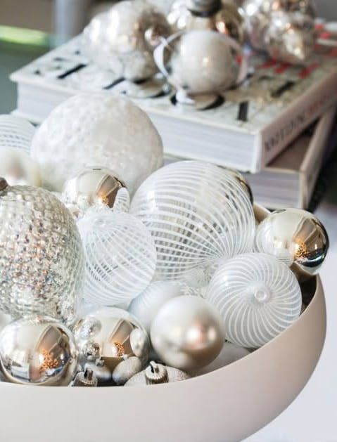 What To Put In A Bowl For Decoration Tip Of The Day Fridayball Bowl Christmas Decorating Ideas We Bet