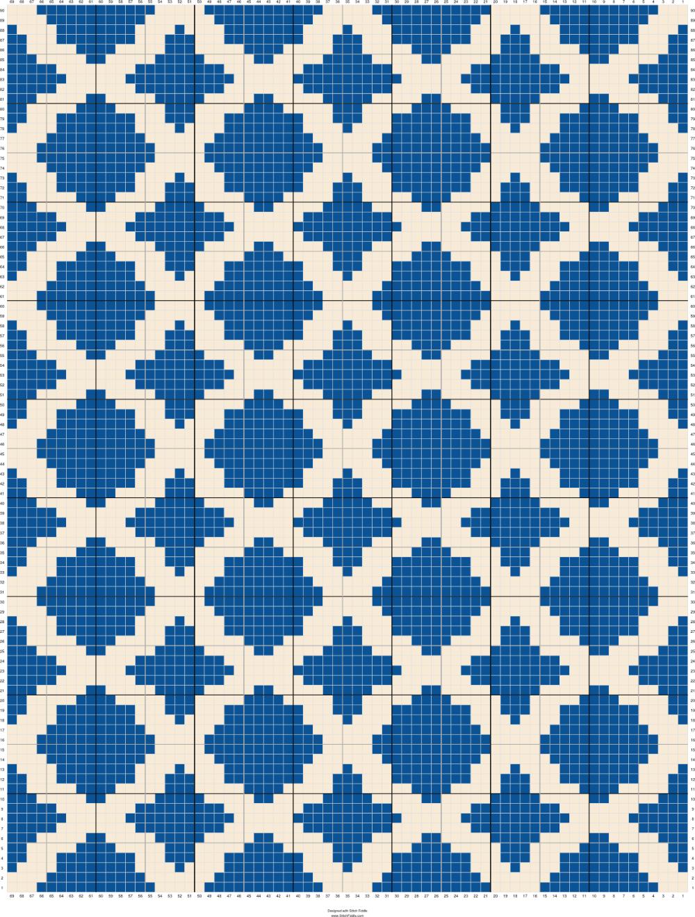 Marokkanisches Mosaik Muster Als Poster Bei Artboxone Kaufen 10