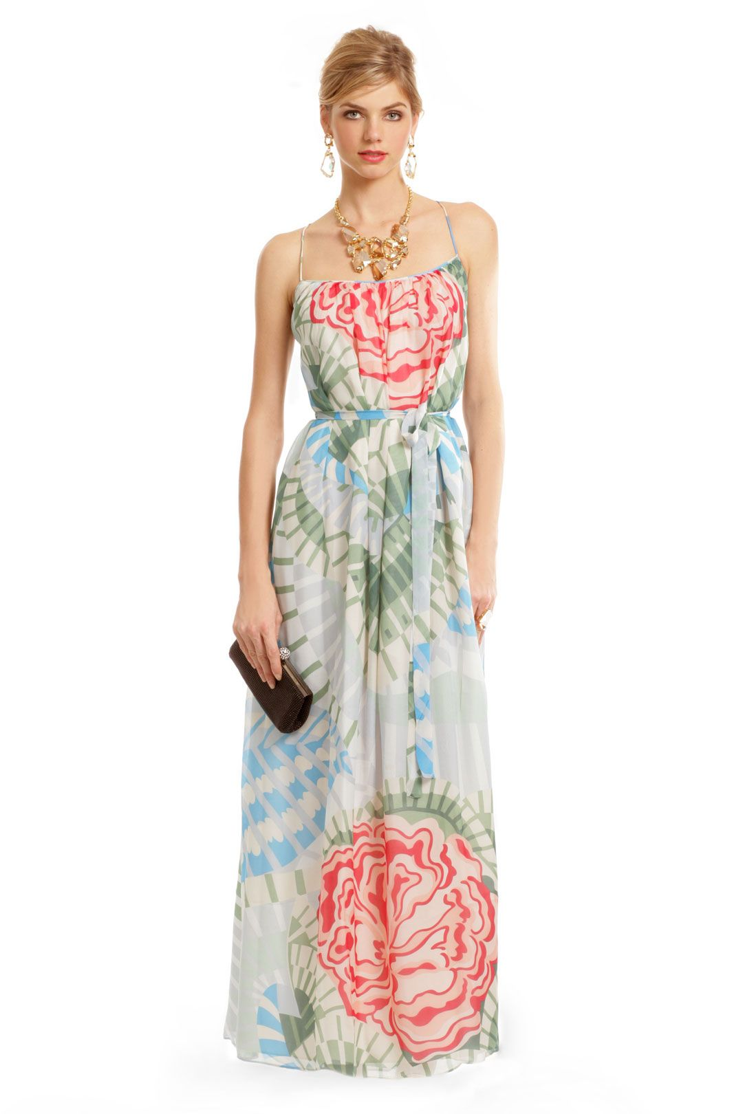 Dress for wedding guest spring  Midori Maxi by Thakoon  Style  Pinterest