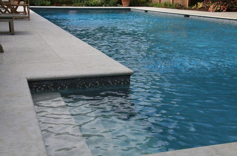 Benjamin Grey Pool Coping Pool Paving Pool Pavers Pool Coping