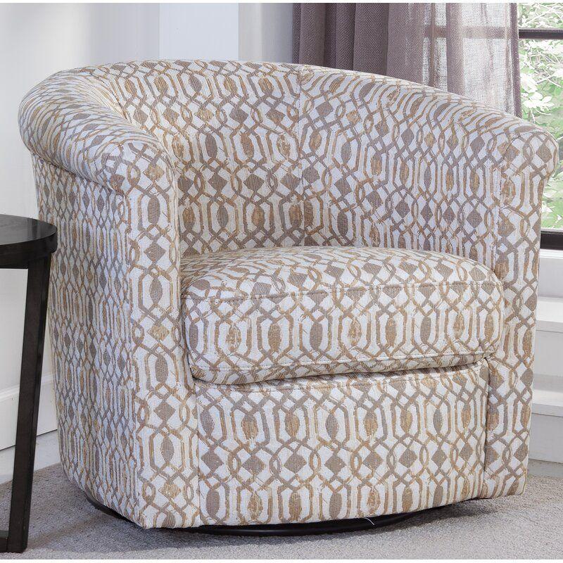 Pinehill Swivel Barrel Chair | Barrel chair, Swivel barrel ...