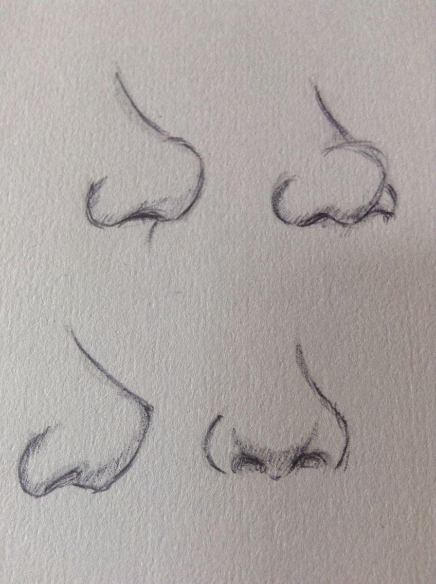 Cómo dibujar narices how to draw noses art et dessins