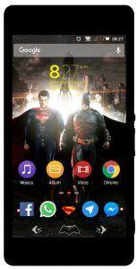 Xperia Super Man vs Batman Theme | Xperia Themes | Superman, Batman