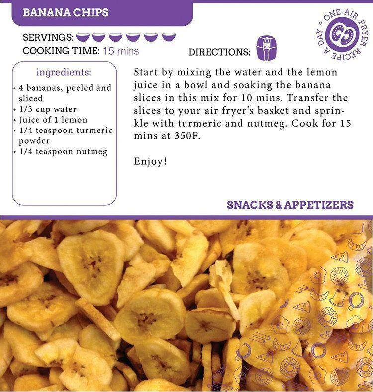 Delicious Banana Chips in the Air Fryer!