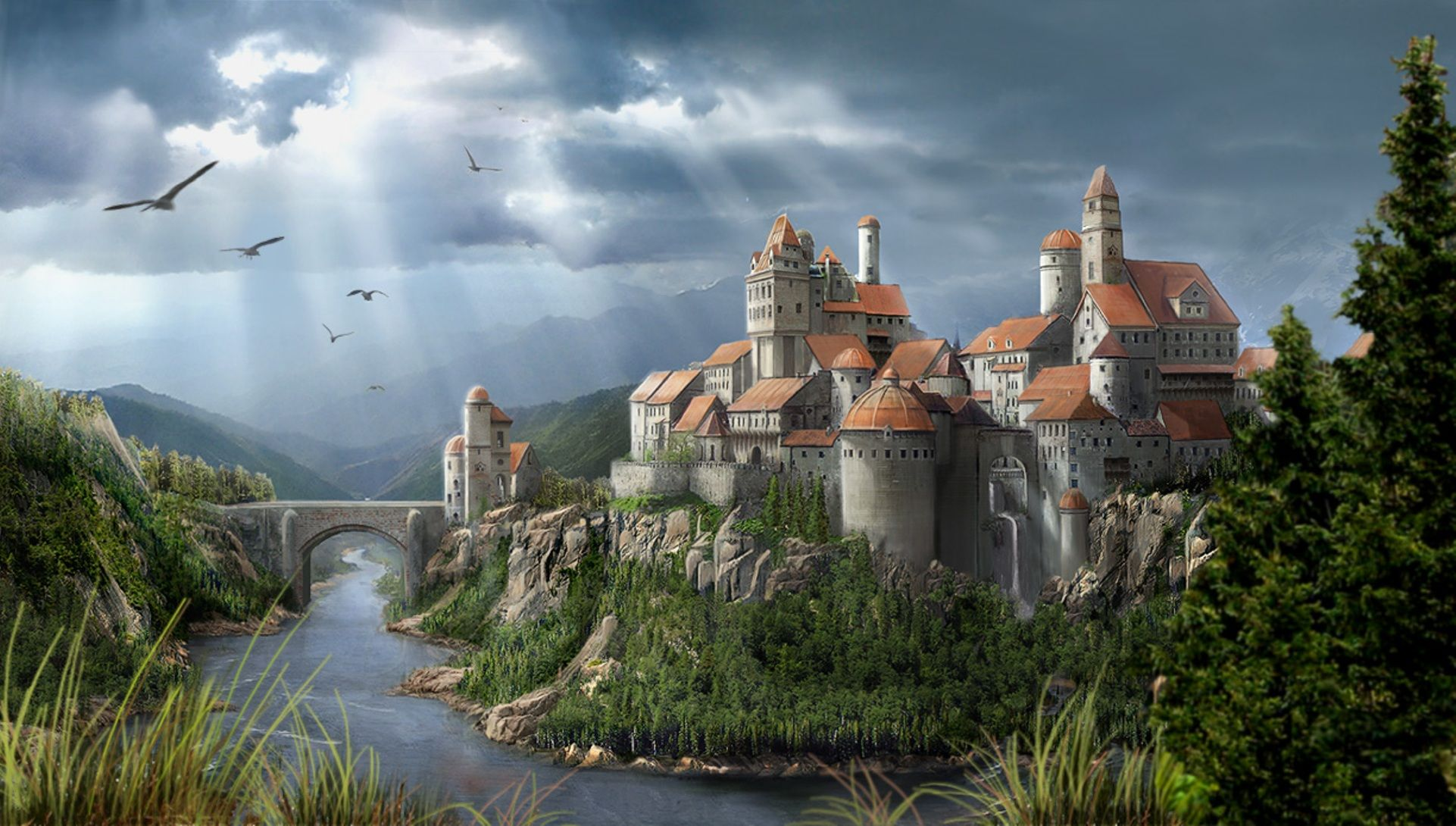 3d castle wallpapers, http://www.firsthdwallpapers/3d-castle