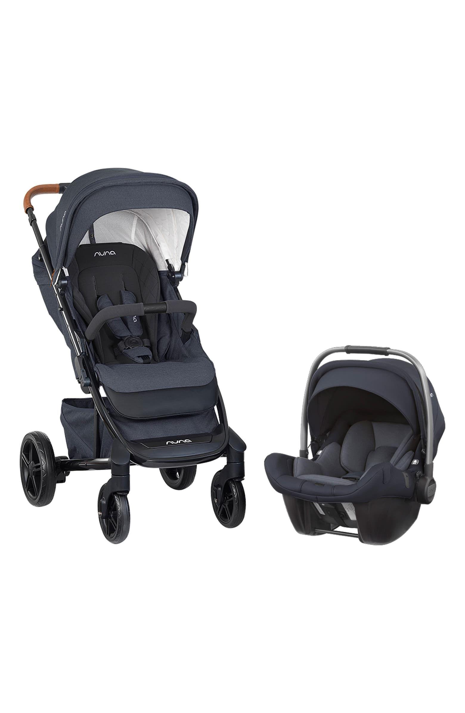 nuna 2019 TAVO™ Stroller & PIPA™ Lite LX Car Seat Travel