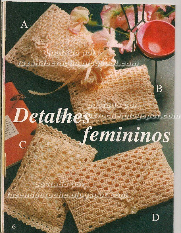 ...Fazendo Crochê...: Kit feminino