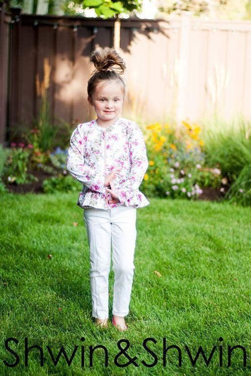 (9) Name: 'Sewing : Lizzy Peplum Jacket
