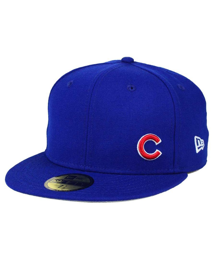 638041065e1 New Era Chicago Cubs Smalls 59FIFTY Cap Cubs Hat