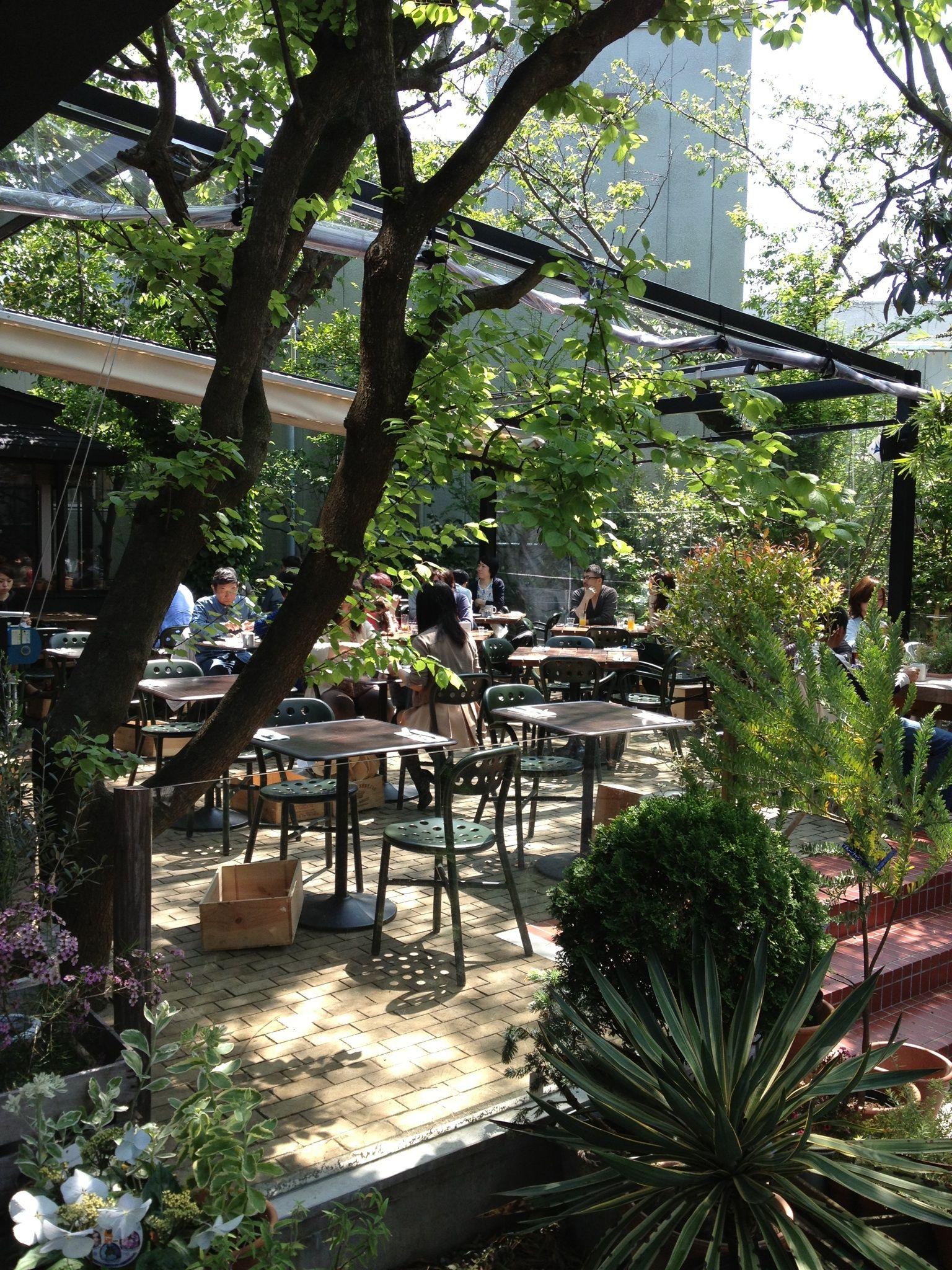 鎌倉ガーデンハウス 屋外カフェ ガーデンハウス 屋外レストラン