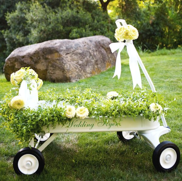 Perfect for a little ring bearer who cant walk Wedding