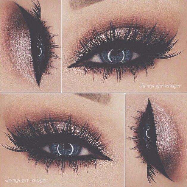 Gold Smokey Eye Make Up Eye And Prom