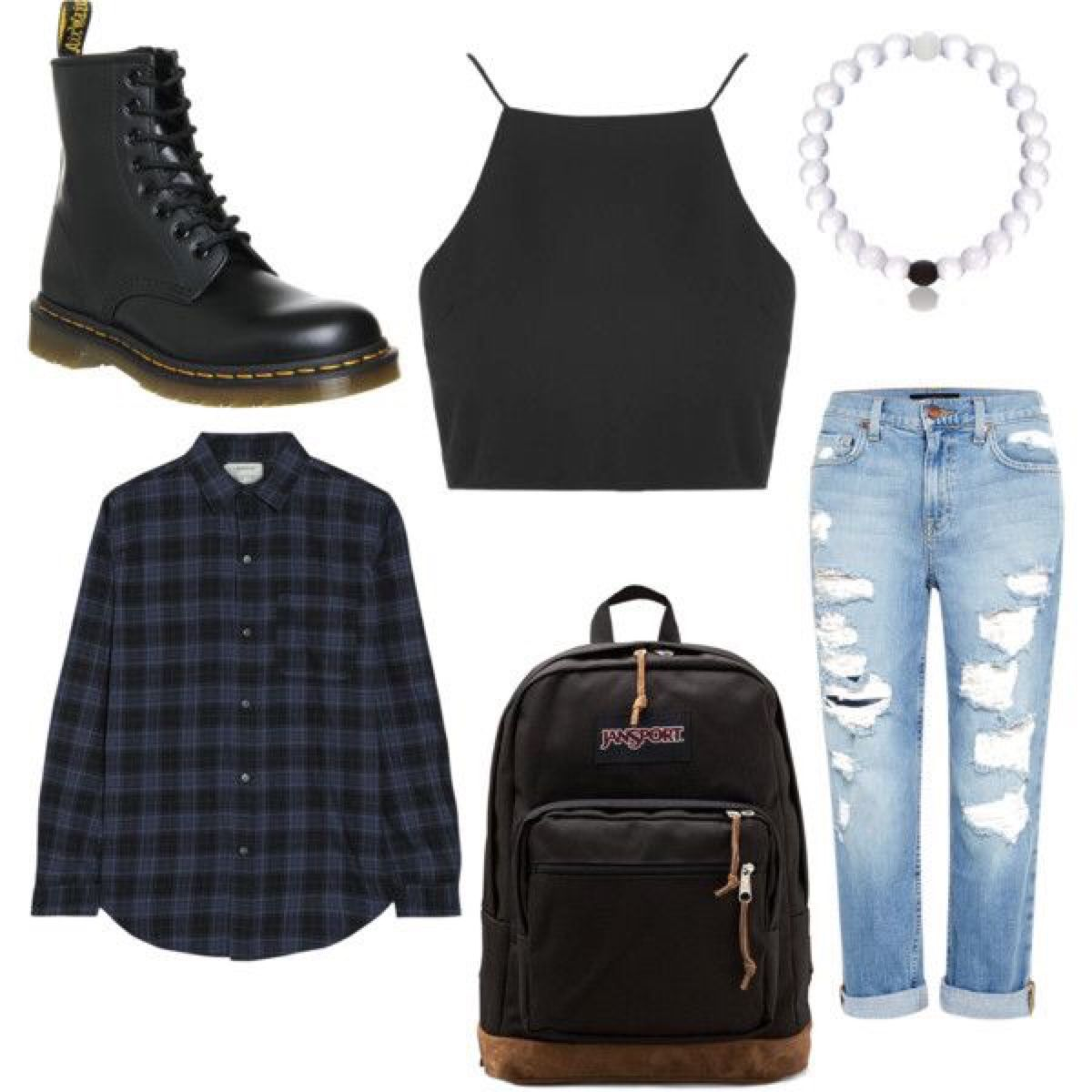 90s Grunge Aesthetic Clothes