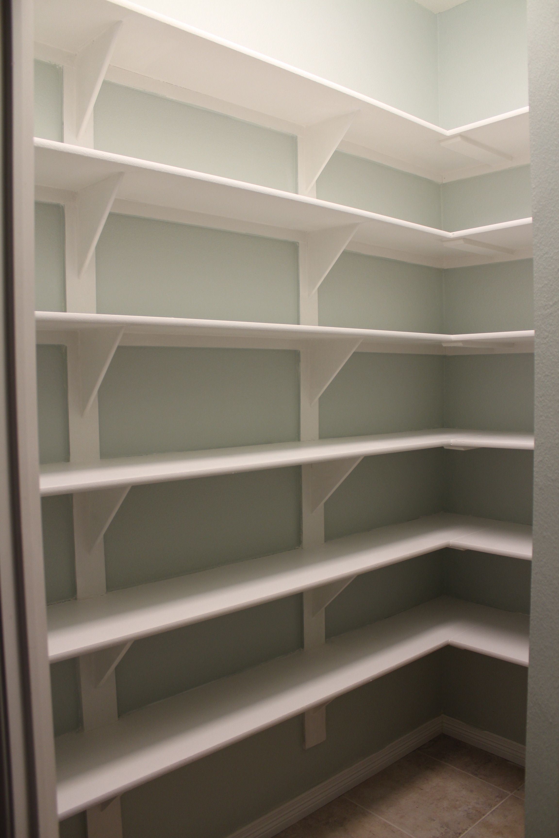 Pin By Michele Busch Jewelry On Home Decor Painted Pantry Pantry Design Shelves