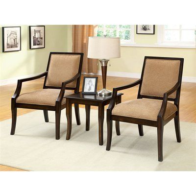 Boudry Accent Chair And Table Set These Two Chairs End Will Complete Any Living Room