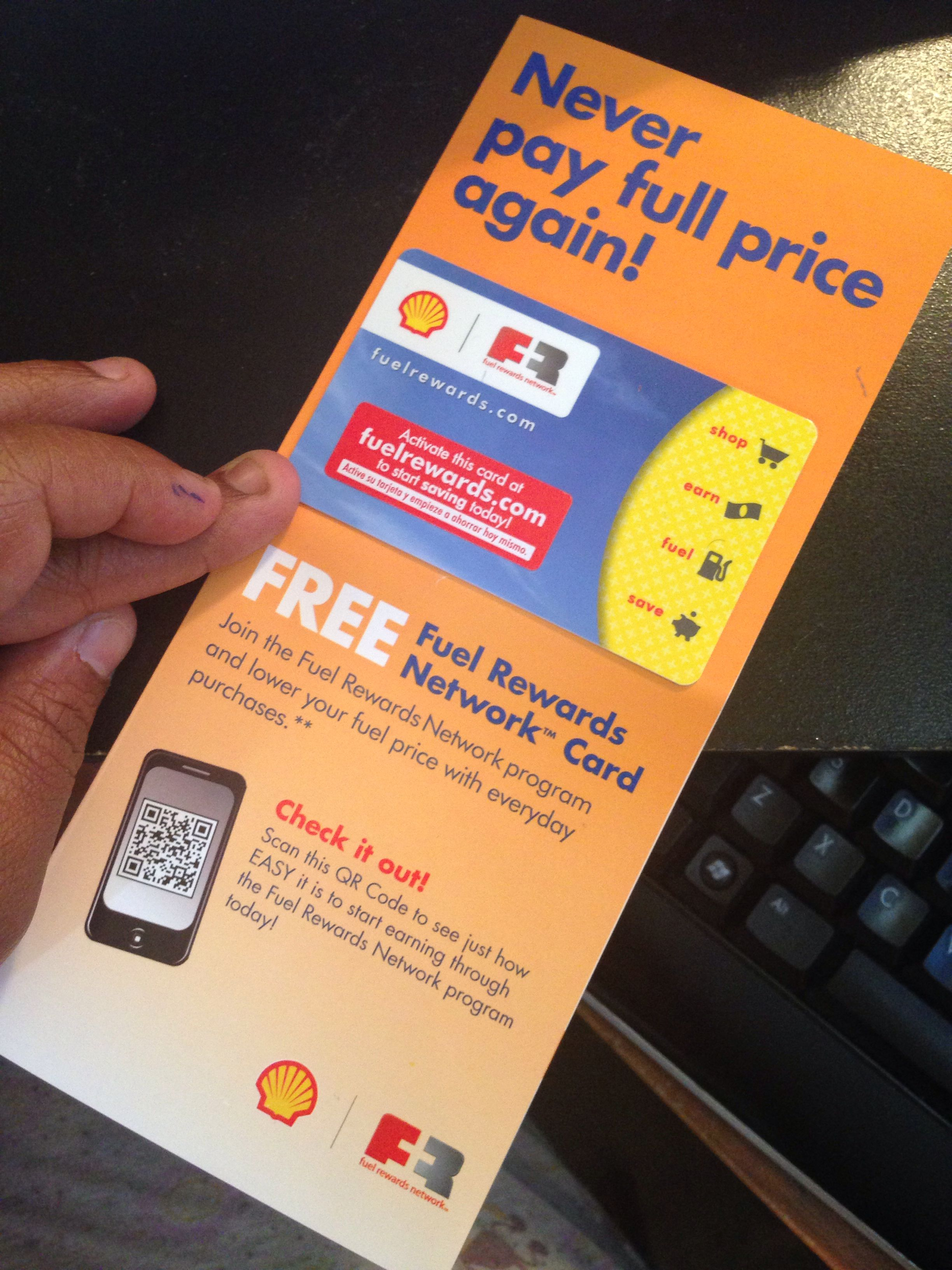 shell fuel rewards network card fuelrewards - How To Use Shell Fuel Rewards Card