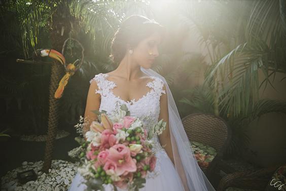 Vestido De Noiva Com Saia De Tule Recanto Beija Flor Eventos