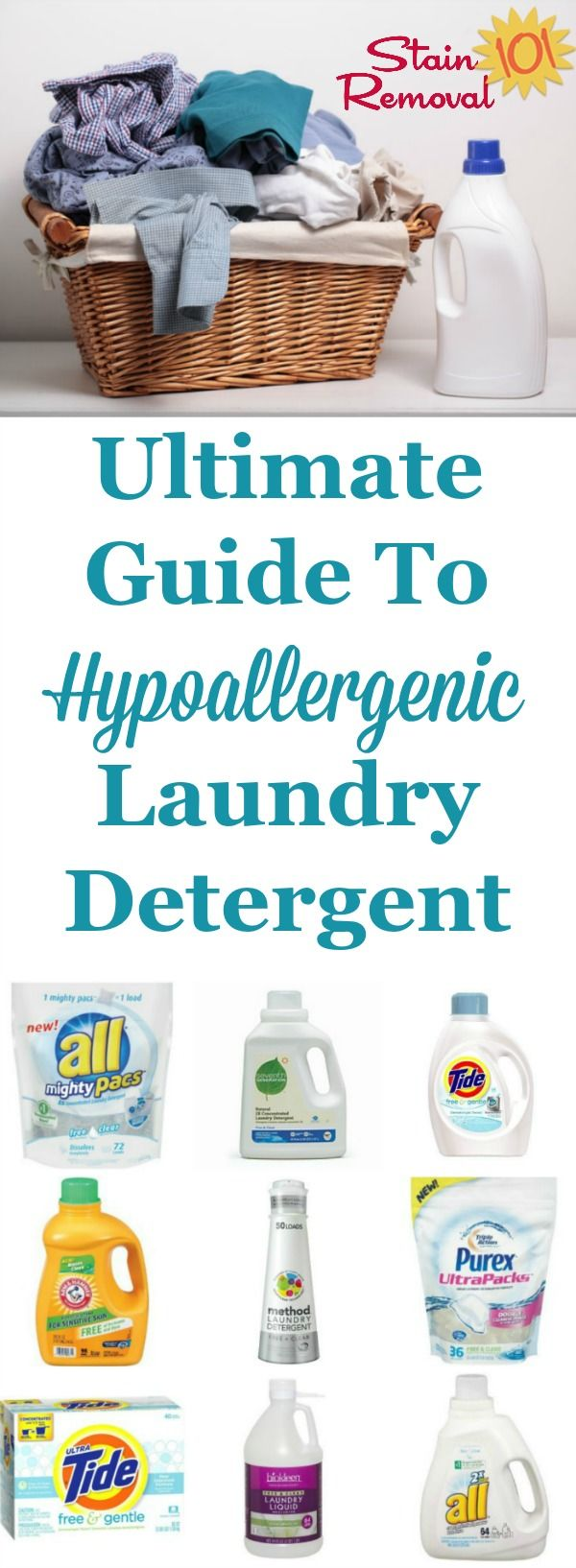 Ultimate Guide To Hypoallergenic Laundry Detergent Use It To