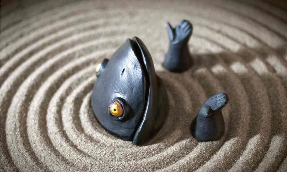 Bloodbaths and bad dreams: Shaun Tan's fairytale sculptures