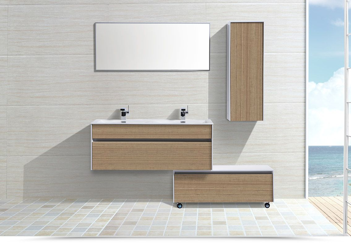 Doppio lavabo ceramica sospeso google search bagni for Pinterest bagni