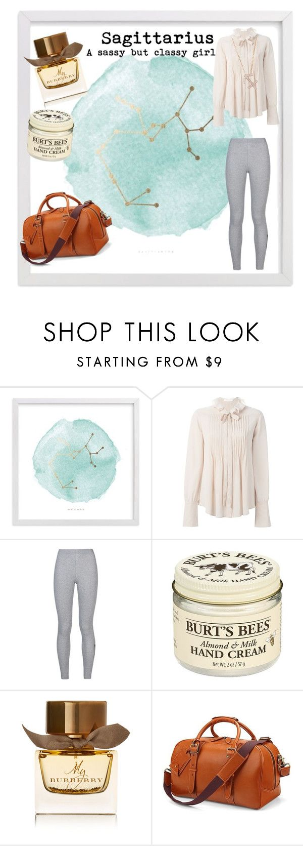 """Sagittarius 💙"" by tumblrstyling ❤ liked on Polyvore featuring Chloé, NIKE, Burt's Bees, Burberry, Aspinal of London and Latelita"