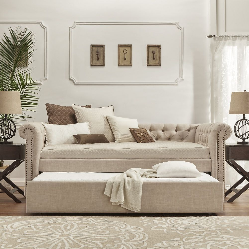 double daybed with trundle