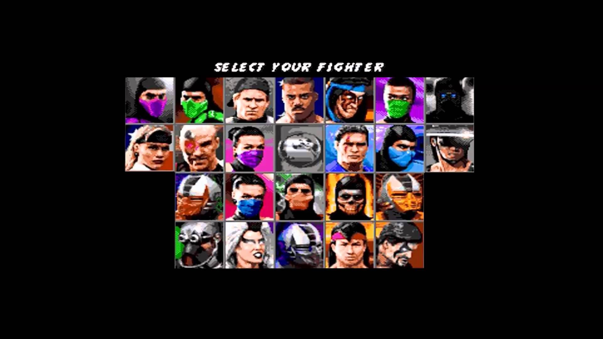 Ultimate Mortal Kombat 3 Walkthrough Select Your Character