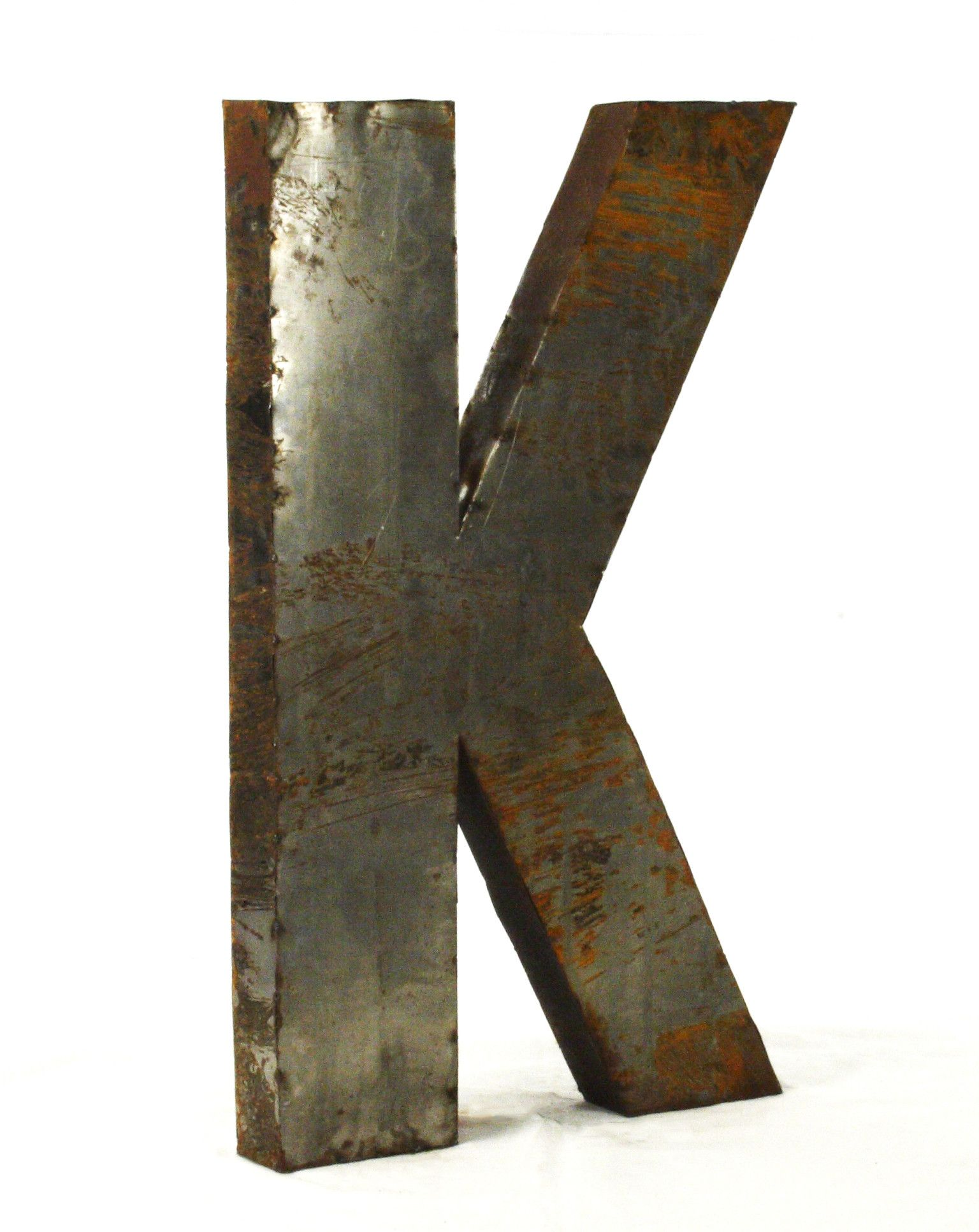 Large Metal Letter K Zentique Letter Block Décor & Reviews  Wayfair  Carol