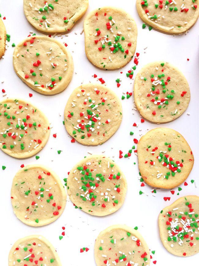 Slice and Bake Christmas Sugar Cookies Recipe Christmas sugar