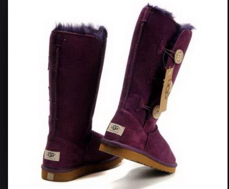 Dark purple uggs