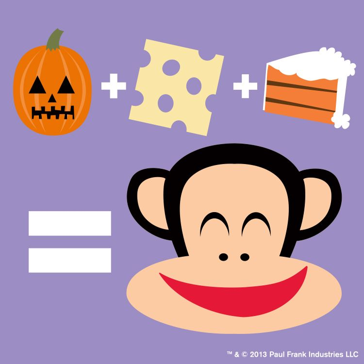 Monday Just Got Sweeter It S National Pumpkin Cheesecake Day Cute Monkey Paul Frank Mickey Mouse