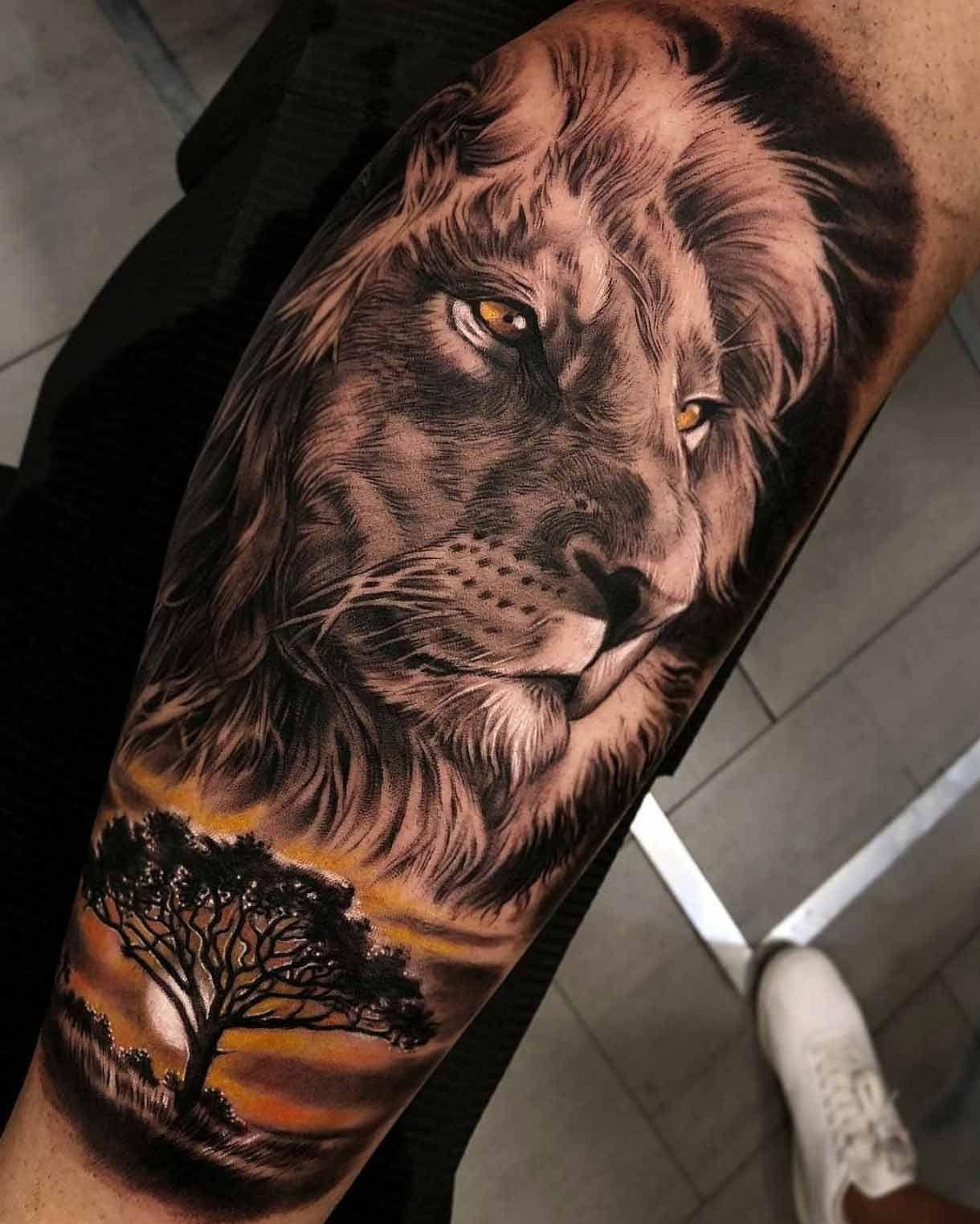Lion Tattoo Zeichnung Tatoo Feminina Feminina 11
