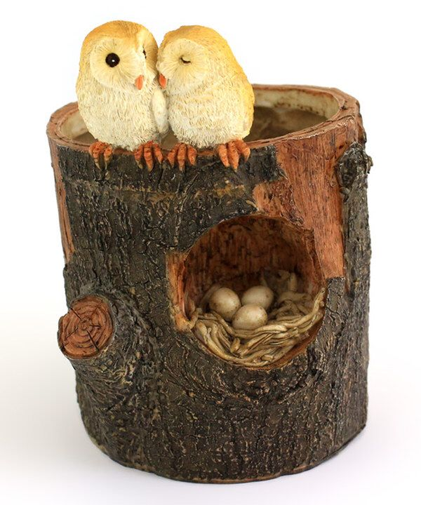 Look at this Owl Lovers Functional Flower Pot on #zulily today!