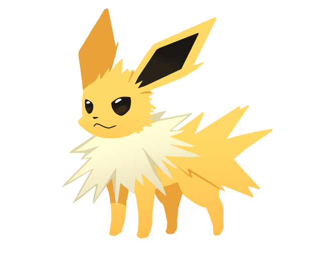 jolteon pok233mon fan art eeveelution pok233mon fan art