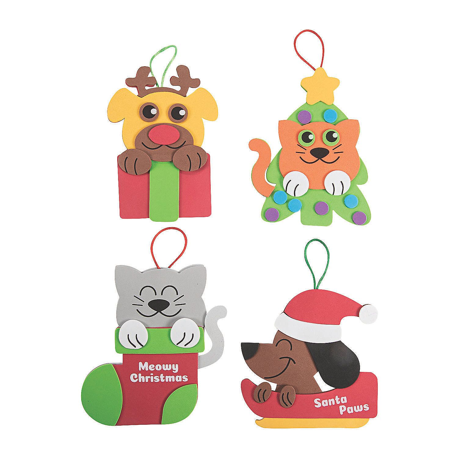 Christmas Pet Ornament Craft Kit